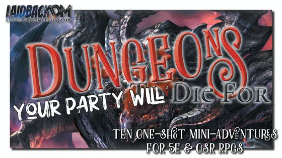 Copertina del progetto Kickstarter di Dungeons your Party will Die For per D&D re